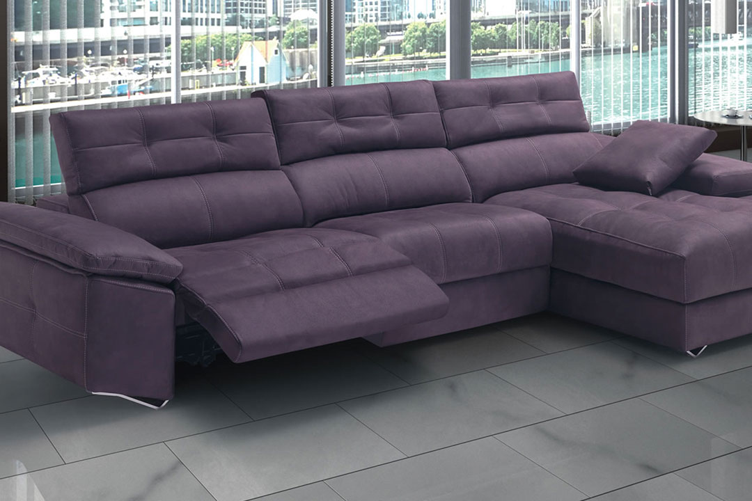 SOFÁ CHAISELONGUE LOTUS - DVN