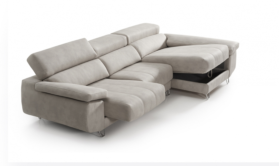 SOFÁ CHAISELONGUE REGINA - M.T