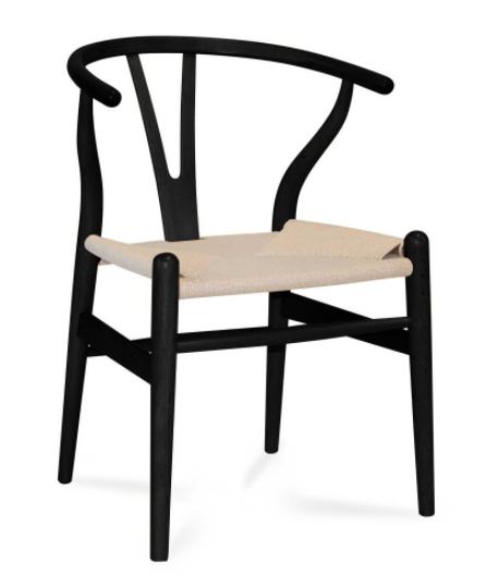 silla altea negro-ratan natural csth