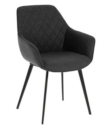 silla aminy gris oscuro jg