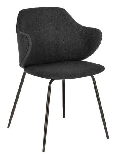 silla suanne gris oscuro jg