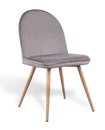 silla velvet terciopelo gris-haya csth