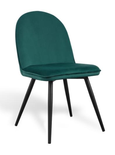 silla velvet terciopelo verde csth