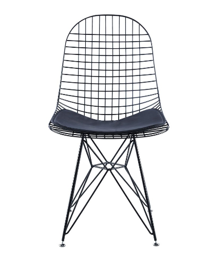 silla wire negro csth