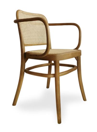 sillón abel madera-ratan csth