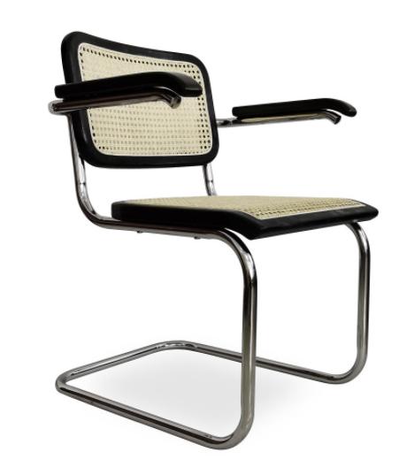 sillón marcelo negro-ratan natural csth